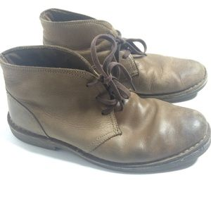 Bass Thom Leather Chukka Boots Men's Size 9.5M